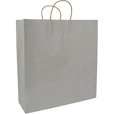 Colour Paper Shopper, Silver, Fashion, 250/case