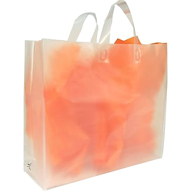 Gunther Mele Ltd. Oxo-biodegradable Frosted Clear Shopping Bags
