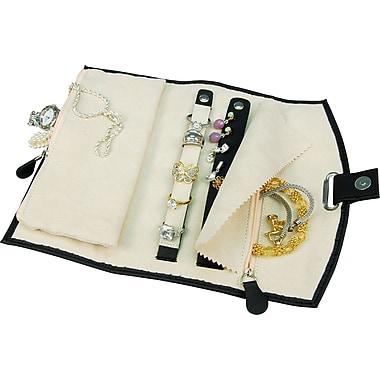 Fiona Travel Jewellery Folder, Black