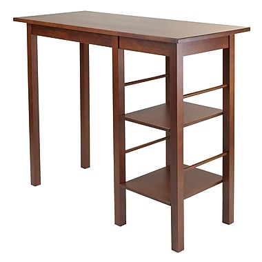 WinsomeMD – Table à déjeuner Egan avec 2 tablettes latérales