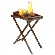 Winsome Devon Butler TV Table with Serving Tray