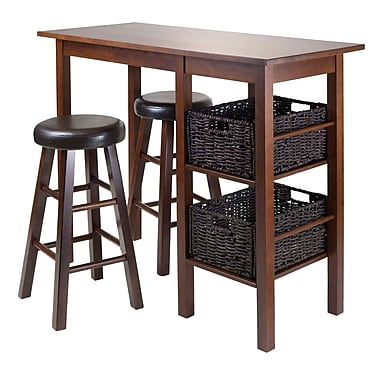 Winsome Egan 5-Piece Table with Two 24