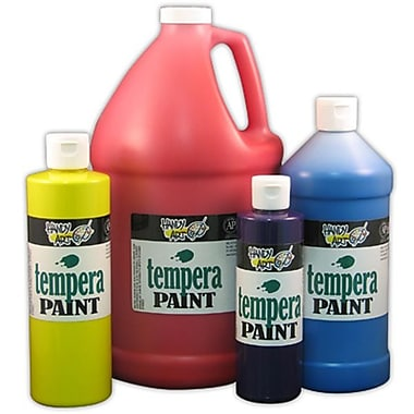 Handy Art® Tempera Paint Gallon, Black