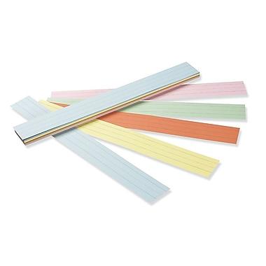 Pacon® – Bandes de phrases lignées, 3 po x 24 po, couleurs variées, paq./100 feuilles