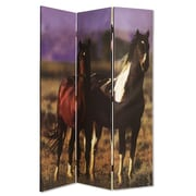 Screen Gems 73'' x 48'' Thouroghbred Screen 3 Panel Room Divider