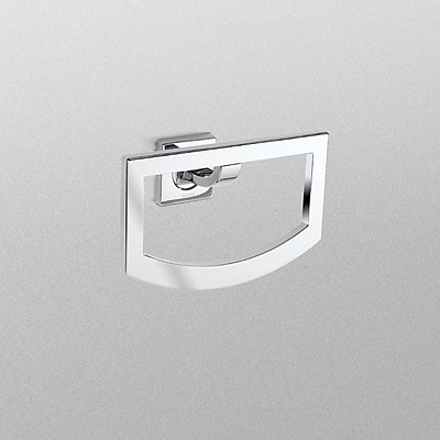 Toto Aimes Wall Mounted Towel Ring; Polished Chrome