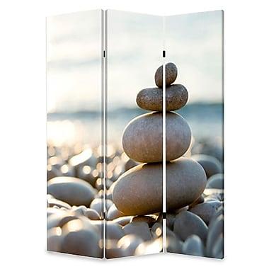 Screen Gems 72'' x 48'' Spa 3 Panel Room Divider