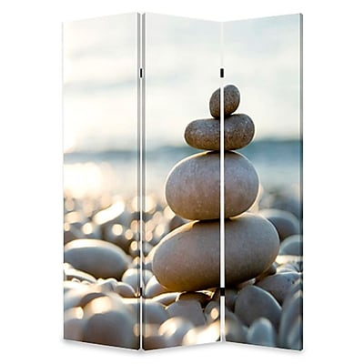 Screen Gems 72'' x 48'' Spa 3 Panel Room Divider