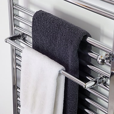 Artos Denby Fixture Mounted Towel Bar; Chrome
