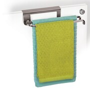 Lynk Over Cabinet Door Pivoting Over-the-Door Towel Bar