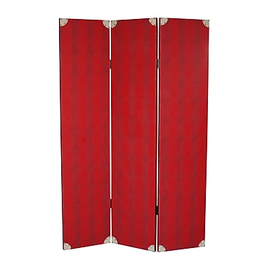 Screen Gems 71'' x 47'' Elric 3 Panel Room Divider