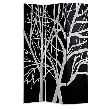 Screen Gems 72'' x 48'' Tranquility 3 Panel Room Divider