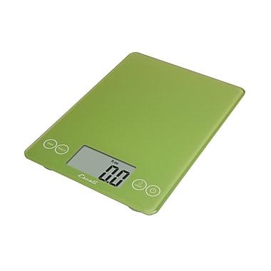 Escali Arti Glass Digital Scale, 15 Lb 7 Kg, Key Lime Green