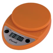 Escali Primo Digital Scale, 11 Lb 5 Kg, Pumpkin Orange