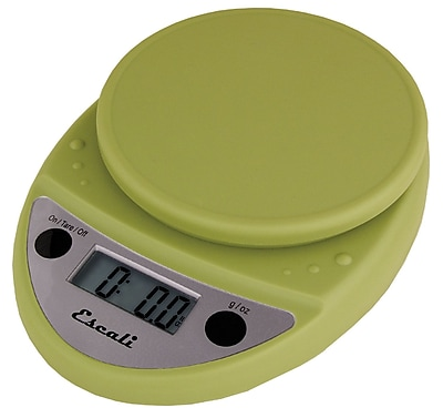 Escali Primo Digital Scale, 11 Lb 5 Kg, Terragon Green