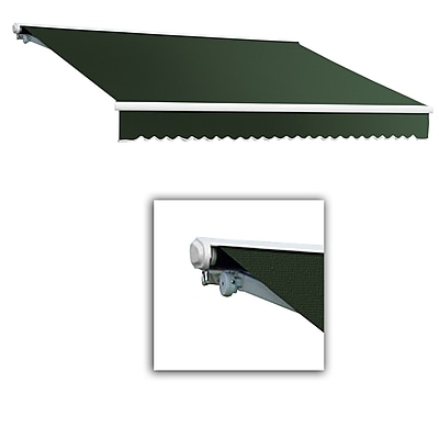 Awntech® Galveston® Left Motor Retractable Awning, 10' x 8', Olive