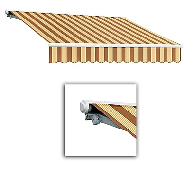 Awntech® Galveston® Right Motor Retractable Awning, 8' x 7', Terra/Tan