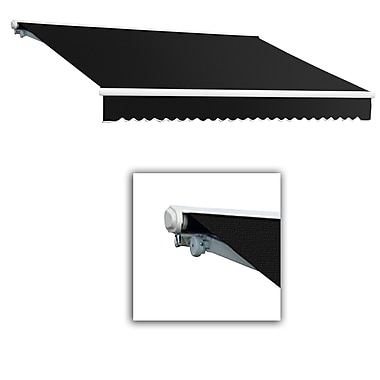 Awntech® Galveston® Left Motor Retractable Awning, 8' x 7', Black