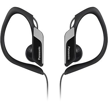 Panasonic® RP-HS34 Water Resistant Sports Clip Earbud Headphones