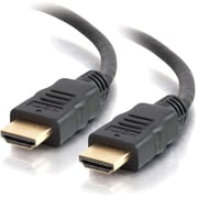 """C2G  42500 19.2"""" HDMI Cable with Ethernet, Black"""