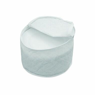 Marathon Management – Étui de rangement pour vaisselles en porcelaine, blanc, 8 po
