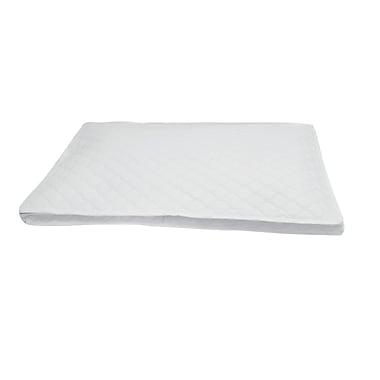 Marathon Management – Étui de rangement de vaisselle en porcelaine avec protecteur de plat de service matelassé, blanc
