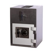 Hollon Safe Rotary Hopper Commercial Depository Safe; Combination Lock