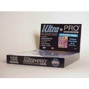 Ultra Pro 7.5'' x 3.5'' Proof Sets Display Box (3 Pocket Pages)