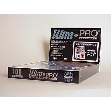 Ultra Pro 3.5'' x 5'' Postcards Display Box (4 Pocket Pages)