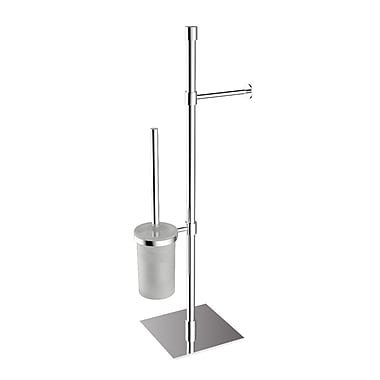 WS Bath Collections Complements Free Standing Toilet Paper Holder