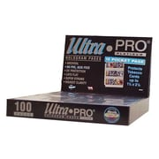 Ultra Pro 1.5'' x 2.5'' Tobacco Cards Display Box (15 Pocket Pages)