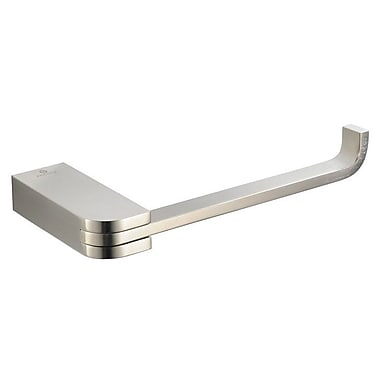 Fresca Solido Wall Mounted Toilet Paper Holder; Brushed Nickel