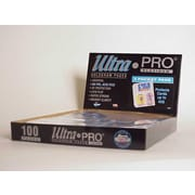 Ultra Pro 4'' x 6'' Card or Photos Display Box (3 Pocket Pages)
