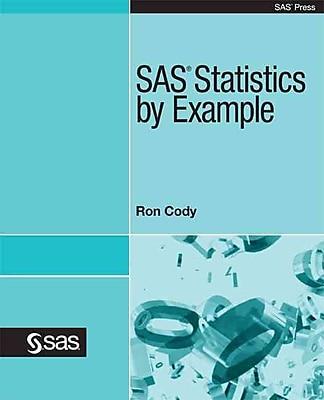 SAS Statistics by Example