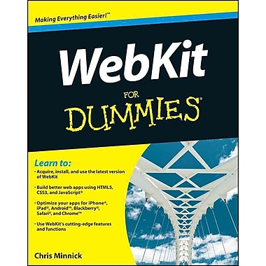 WebKit For Dummies Chris Minnick Paperback