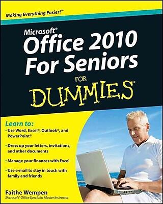 Office 2010 For Seniors For Dummies
