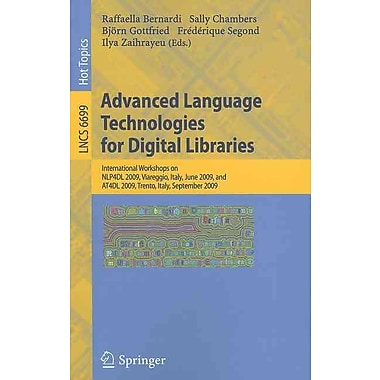 Advanced Language Technologies for Digital Libraries