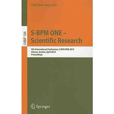 S-BPM ONE - Scientific Research