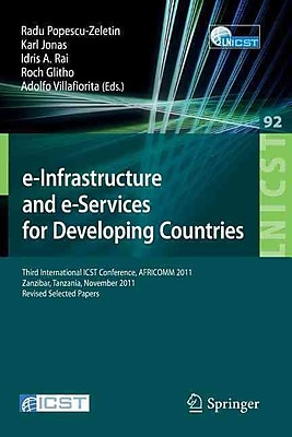 e-Infrastructure and e-Services for Developing Countries (Paperback )