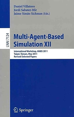 Multi-Agent-Based Simulation XII