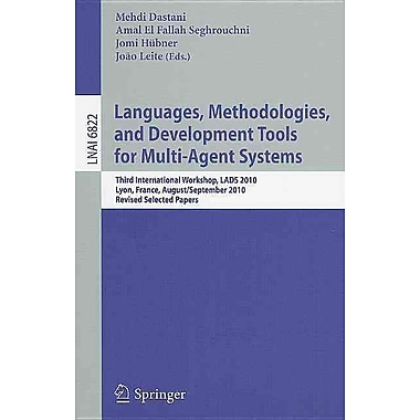 Languages, Methodologies, and Development Tools for Multi-Agent Systems