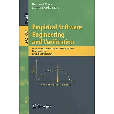 Empirical Software Engineering and Verification: