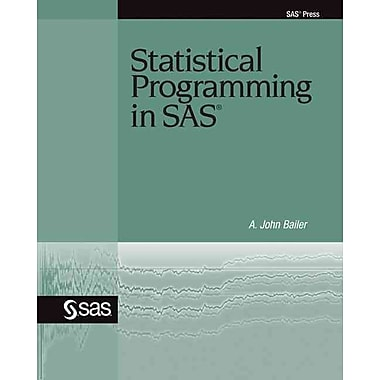 Statistical Programming in SAS