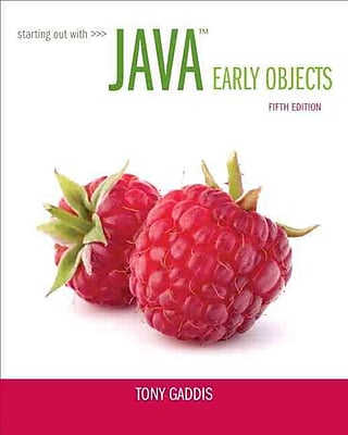 Starting Out with Java: Early Objects (5th Edition)