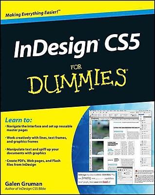 InDesign CS5 For Dummies Galen Gruman Paperback