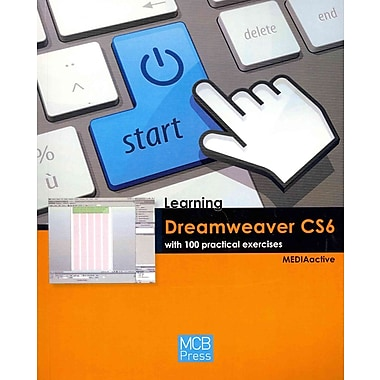 Learning Dreamweaver Cs6 with 100 Practical Exercises Paperback