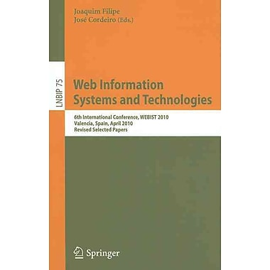 Web Information Systems and Technologies: 6th International Conference