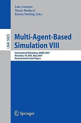 Multi-Agent-Based Simulation VIII