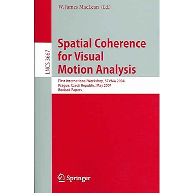 Spatial Coherence for Visual Motion Analysis