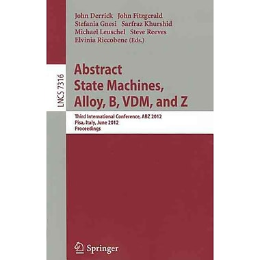 Abstract State Machines, Alloy, B, VDM, and Z